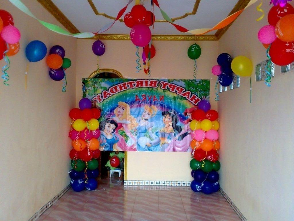 3 Dekorasi Ulang Tahun Anak Di Rumah Sederhana Dekorasi