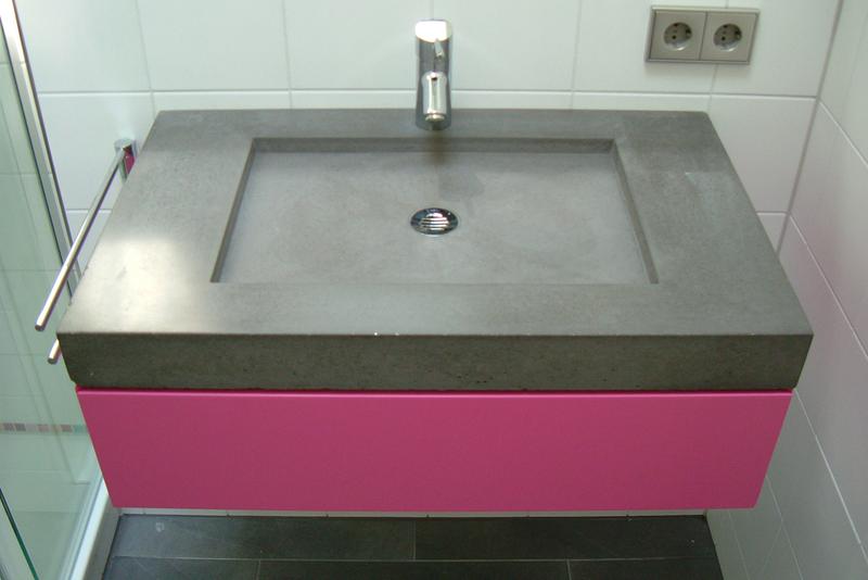 Betonwaschbecken Bloc Betonwaschbecken Doppelwaschbecken Waschtisch