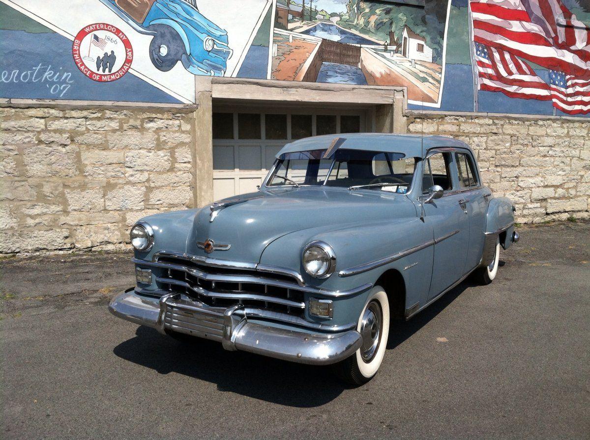 1950 Chrysler Windsor With Images Chrysler Windsor Chrysler