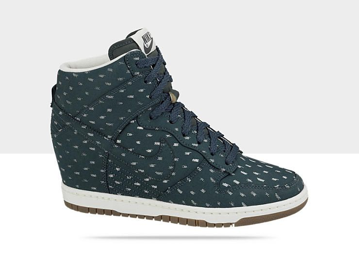 wholesale dealer ab2e4 07023 ... white wedge trainers at asos. bcd2b da693 amazon nike dunk sky high  print chaussure montante pour femme nike 18901 da420 ...