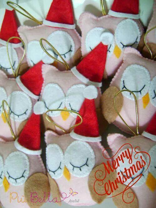 Corujas natalinas