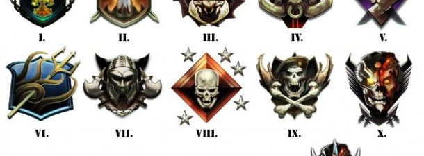Call Of Duty Black Ops 2 Prestige Level Emblems And Zombies Emblems
