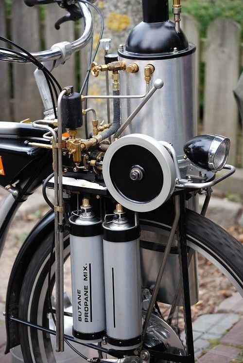 Vesuvius Steam Bike Kit Bike Kit Bike Engine Bicycle Design