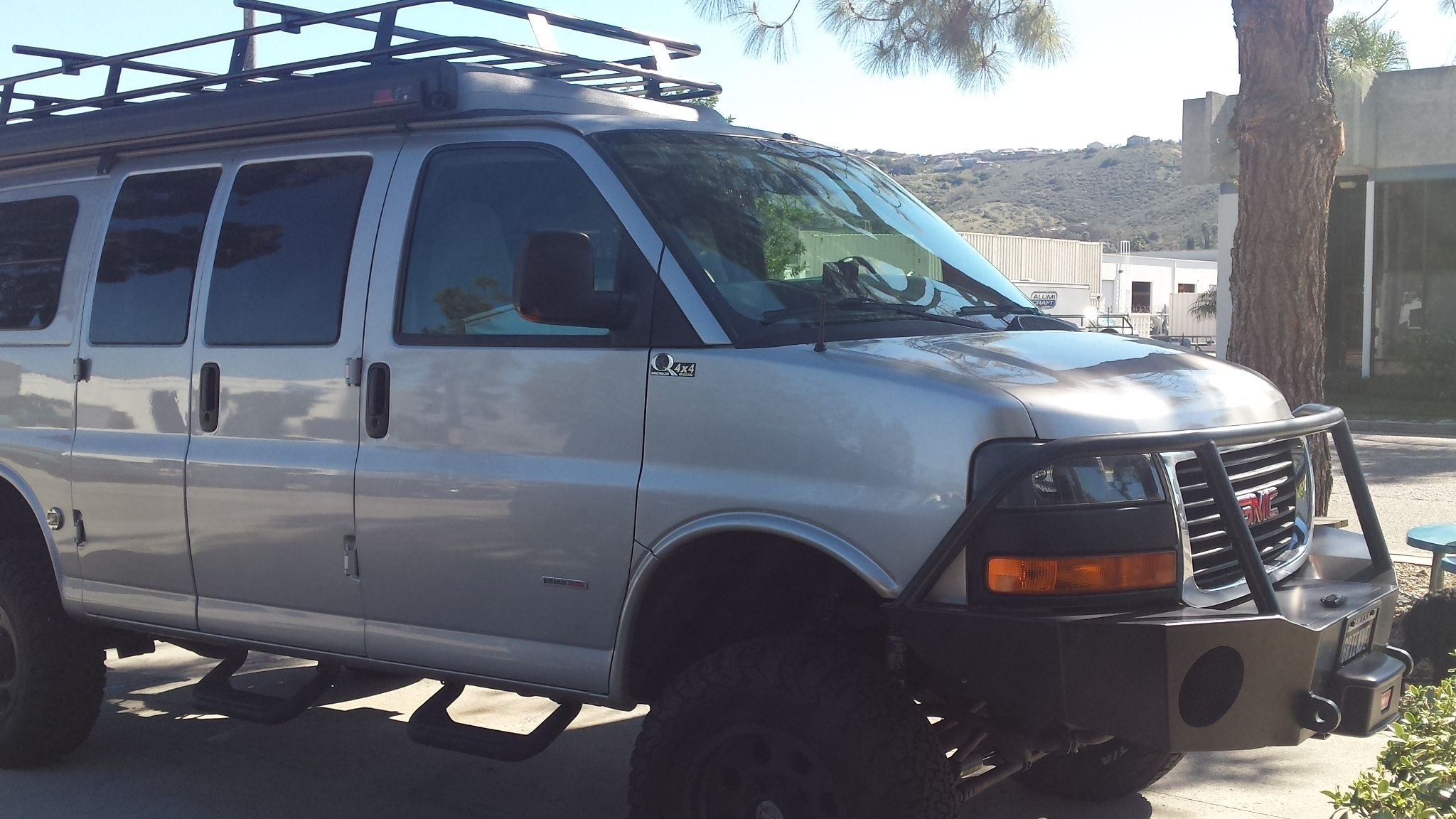 GMC Sportsmobile With Aluminess Front Bumper And Roof Rack
