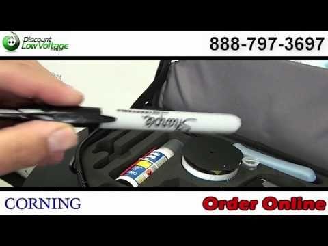 Corning Tkt Unicam Pfc With New Pretium Flat Cleaver Fiber Optic Corning Fiber Optic Cable