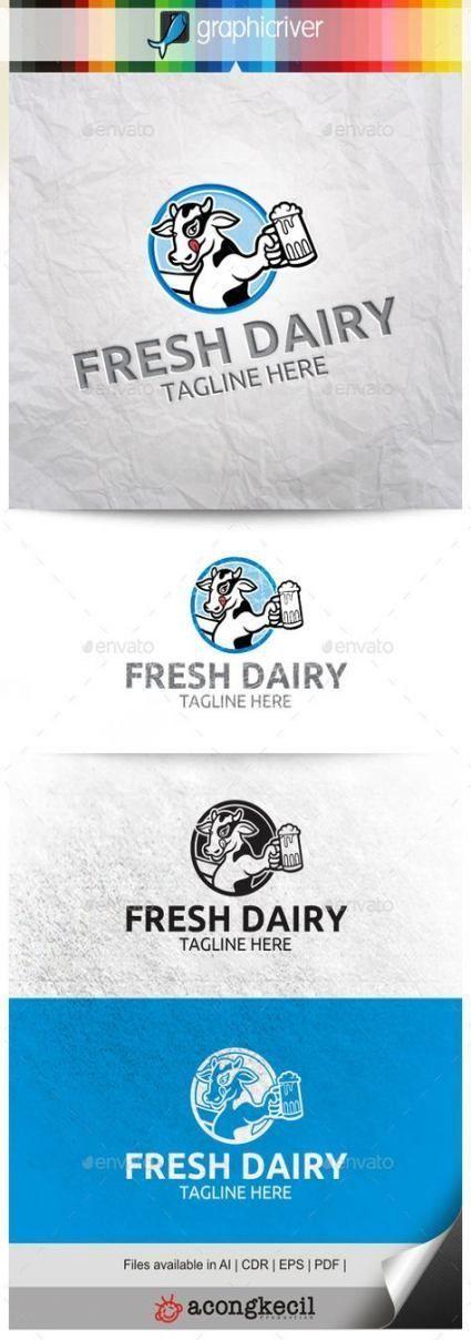Best Dairy Logo Design Simple Ideas- -#Dairy