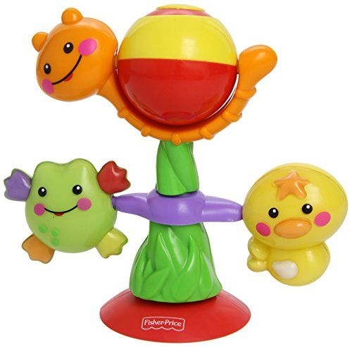 Fisher-Price Fisher Price Twist And Spin Suction Toy This Fisher-Price Spin and Play toy with suction cups easily attaches to most surfaces and will keep baby entertained in their stroller, highchair or bath. The little one (Barcode EAN = 0027084847819) http://www.comparestoreprices.co.uk/december-2016-4/fisher-price-fisher-price-twist-and-spin-suction-toy.asp