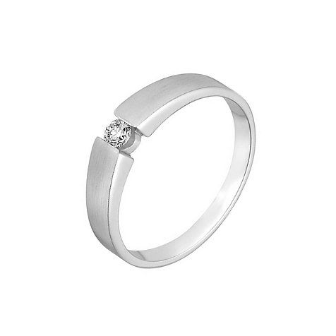 Solitaire Damenring | Engagement rings, Solitaire, Rings