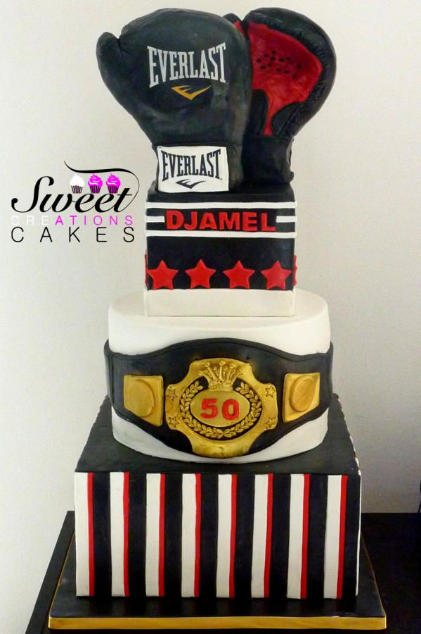 Phenomenal Boxing Cake Boxing Theme Party Ideas Sports Themed Cakes Birthday Funny Birthday Cards Online Hendilapandamsfinfo