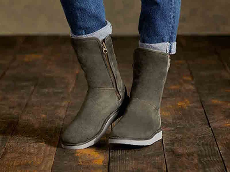 701f4b5d74b UGG-Australia-Abree-Short-Suede-Boot | ❤UGGS | Winter boots outfits ...