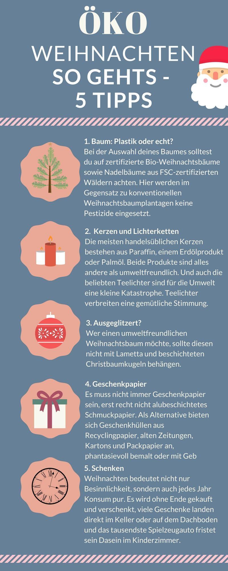 Weihnachten ökologischer feiern - 5 Tipps - so gehts! | Baby und ...