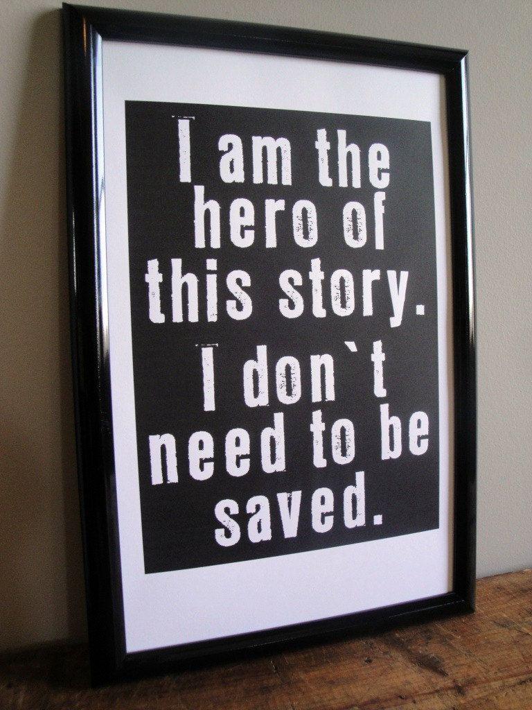 I am the Hero.