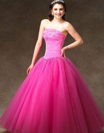 I Heart Wedding Dress Hot Pink