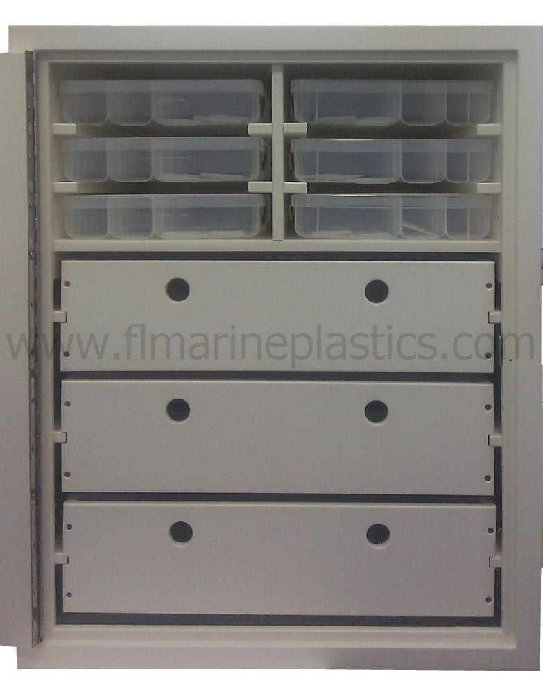 Boat Needs Organize All Of Your Tackle Fishing Gear Boating Accessories With This Large Storage Cabinet Custom Unit Includes 6 Plano 3700 Bo