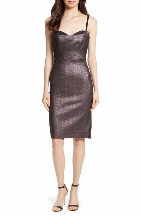 Satin Holiday Dresses