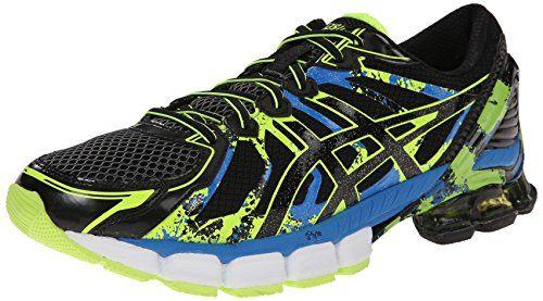 ab2d054ba8457 61b14 9287e  germany asics mens gel sendai 2 running shoe black onyx flash  yellow 12.5 7e2fa f1a37