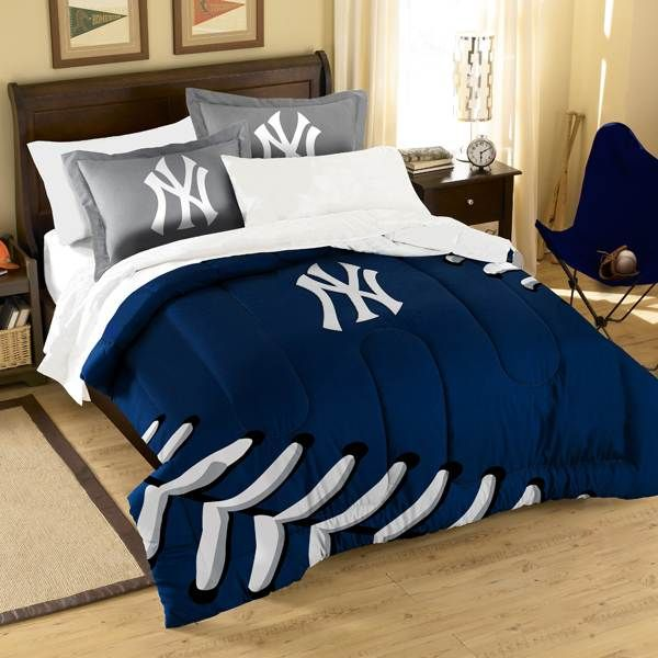 Charming New York Yankees Bedroom Ideas | Northwest New York Yankees Bedding.