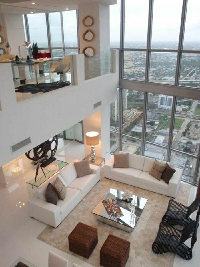 Appartement moderne avec un esprit loft fenetre grande acheter un appartement à paris