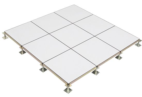 This All Steel Access Floor Panels Is 600mm Square The Surface