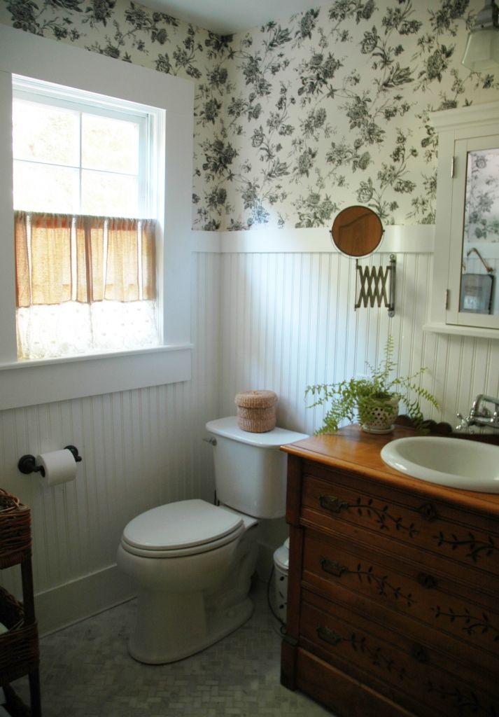 farmhouse bath bathroom redo!! Pinterest Country style
