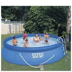Intex Easy Set Pool Set 15 X 42 Shop Stoneberry On Credit