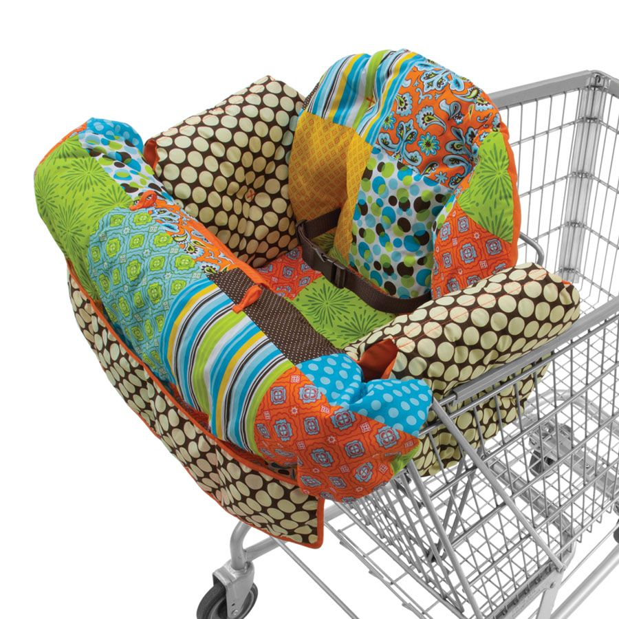 Upright Supportive Shopping Cart Cover New Infantino Boppy