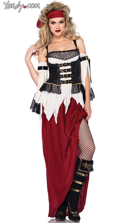 Buried Treasure Pirate Costume Costumes  Make up Pinterest - halloween costumes 2016 ideas