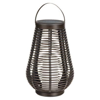 outdoor decor outdoor furniture outdoor spaces outdoor solar lanterns outdoor lighting tear drops rattan target baskets - Outdoor Solar Lanterns