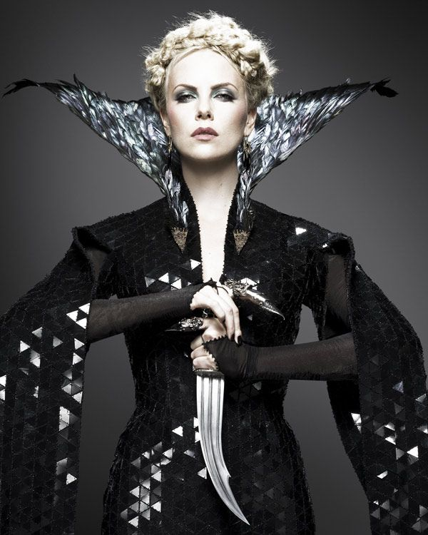 Charlize Theron by Colleen Atwood (Snow White and the Hunstman)