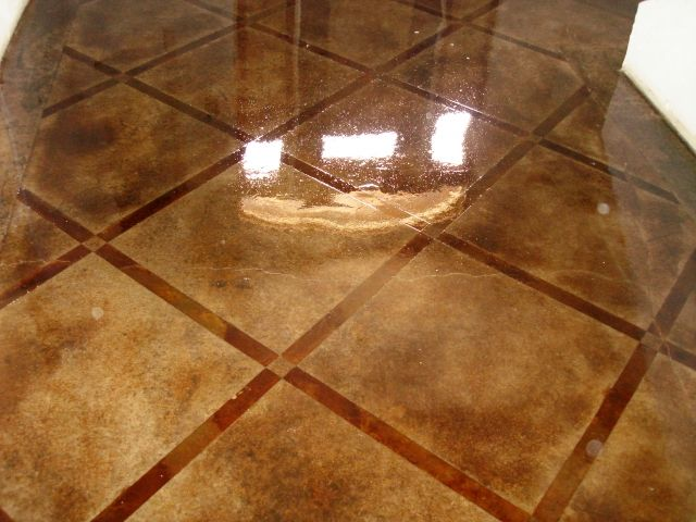 stained concrete | Photo Gallery of Stained Concrete - Stain Pro, Longview, Texas and ...