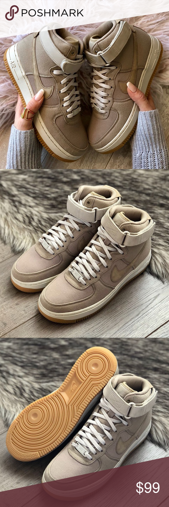 watch 1993c 33ae5 NWT Nike Air Force 1 Khaki Brand new with box no lid. The legend lives