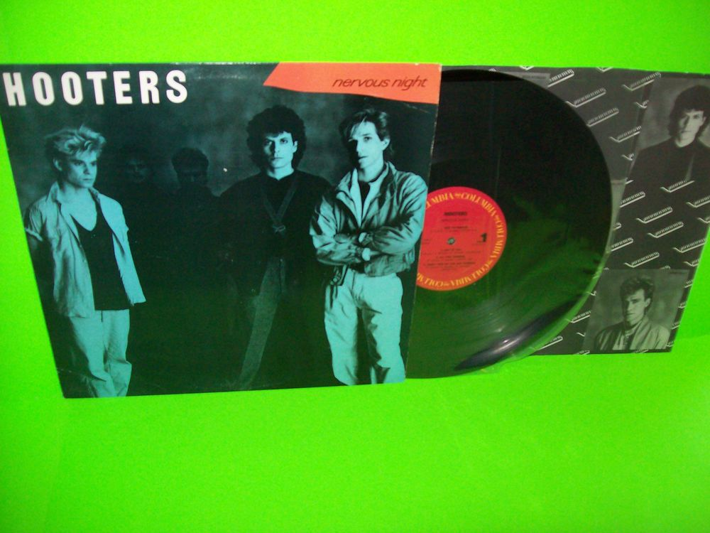The HOOTERS – Nervous Night VINTAGE VINYL LP New Wave All You Zombies NM 1985  #TheHooters #NewWave #PopRock