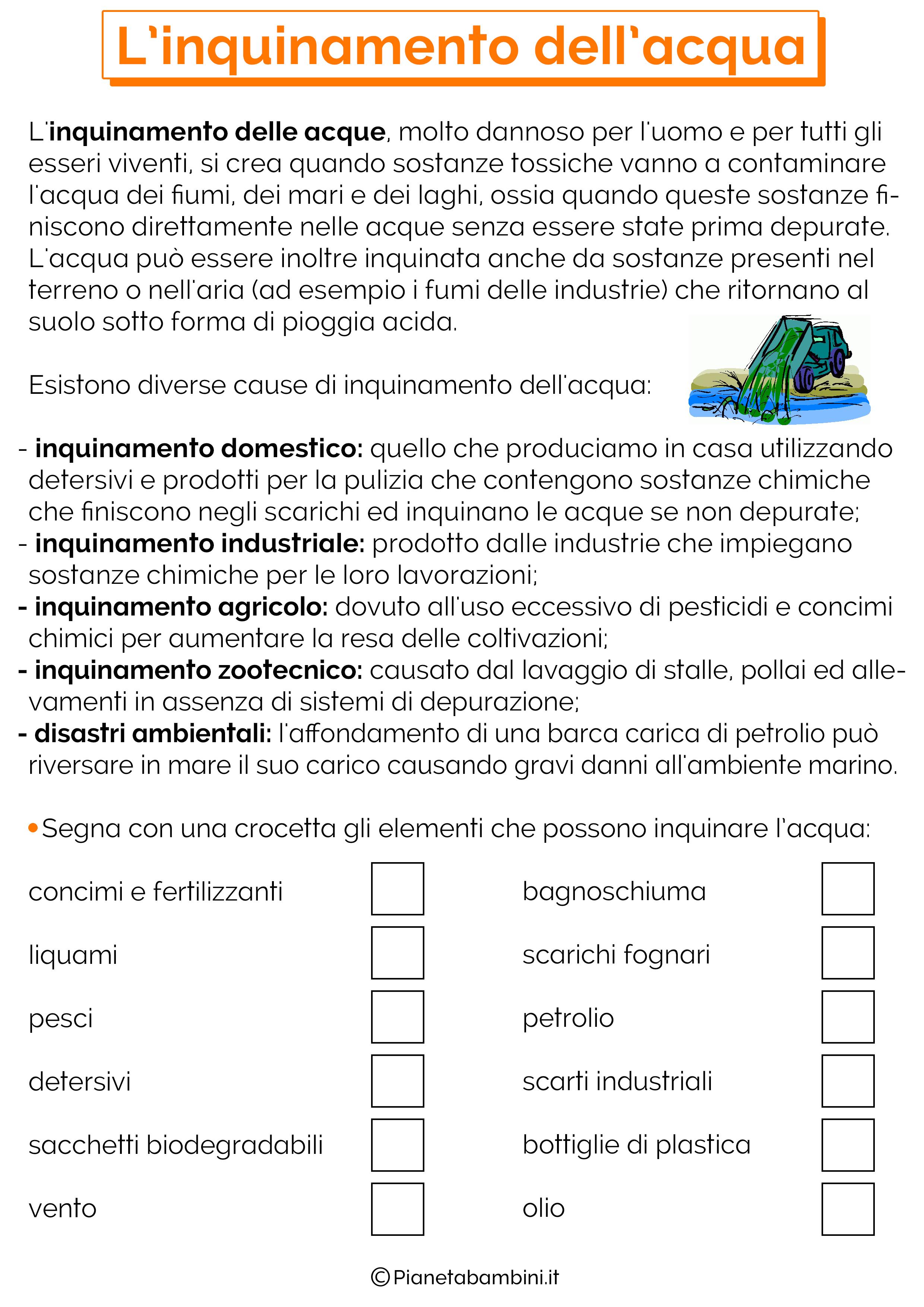 Lacqua Schede Didattiche Per La Scuola Primaria Ciao Science