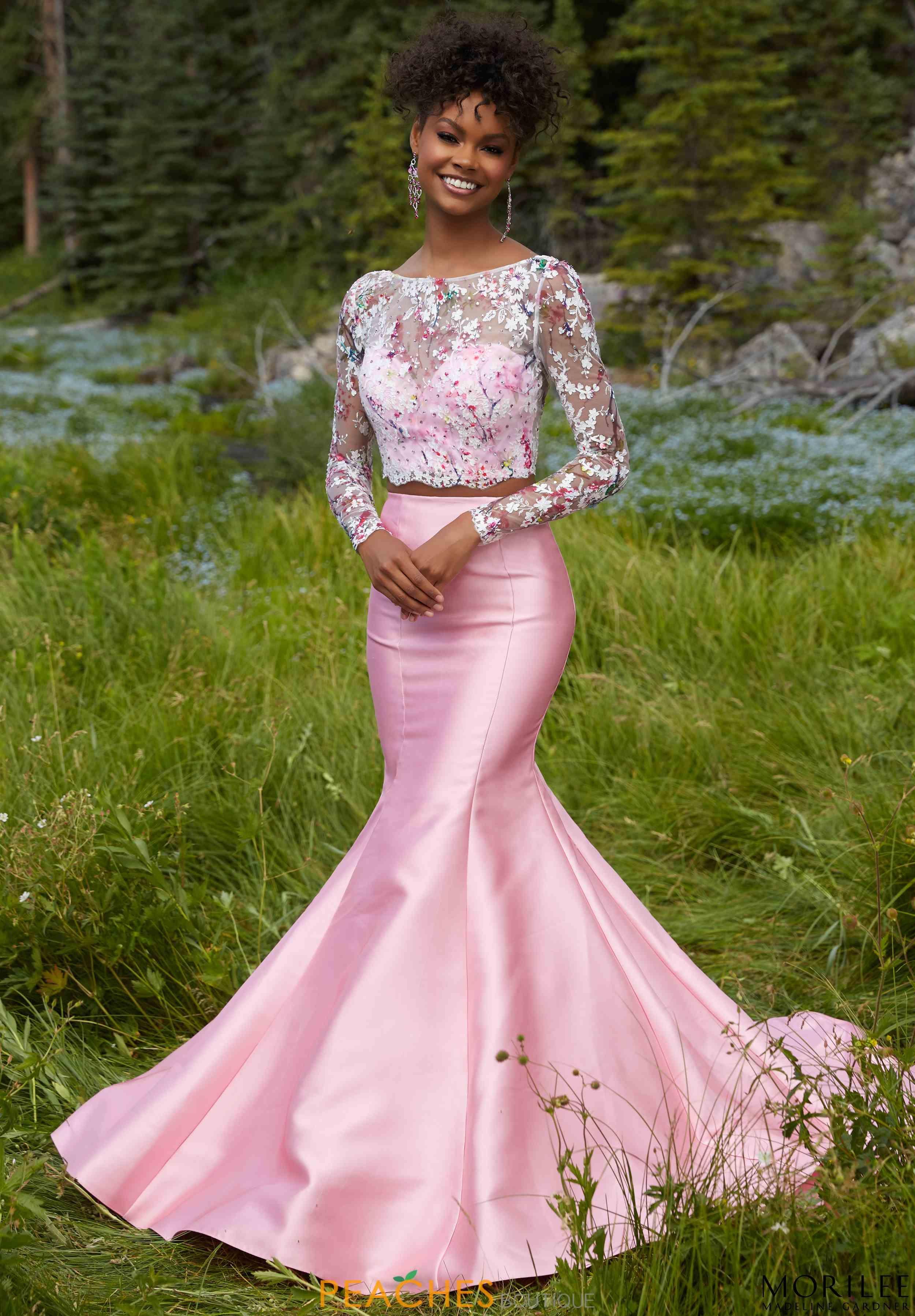 Sleeved Two Piece Mori Lee Dress 99104 | Prom Dresses | Pinterest