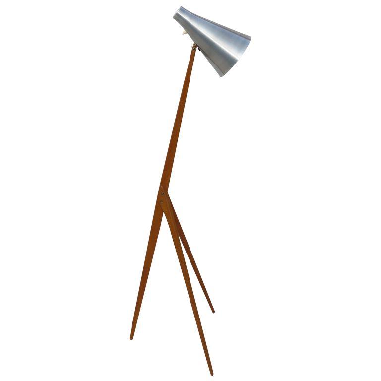 50s Osten Kristiansson for Luxus floor lamp   Floor lamp ...