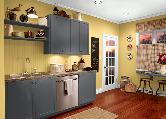 This is the project I created on Behr.com. I used these ...
