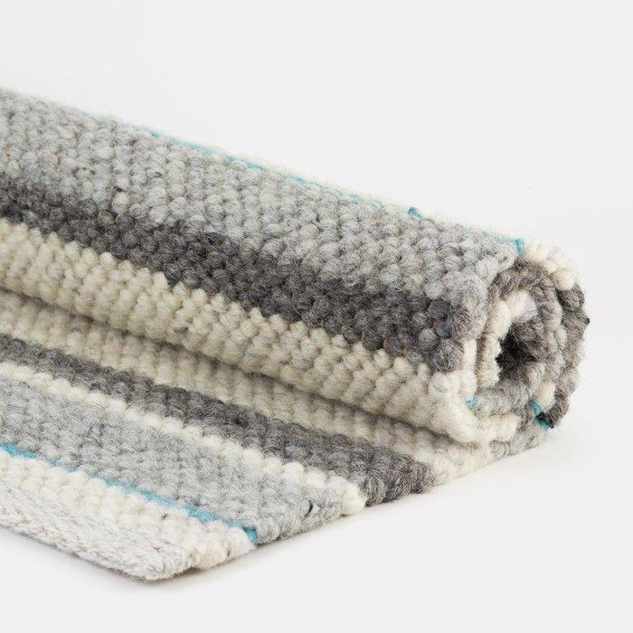 Handgearbeiteter Schafwollteppich Der Teppich Maria Ist Aus