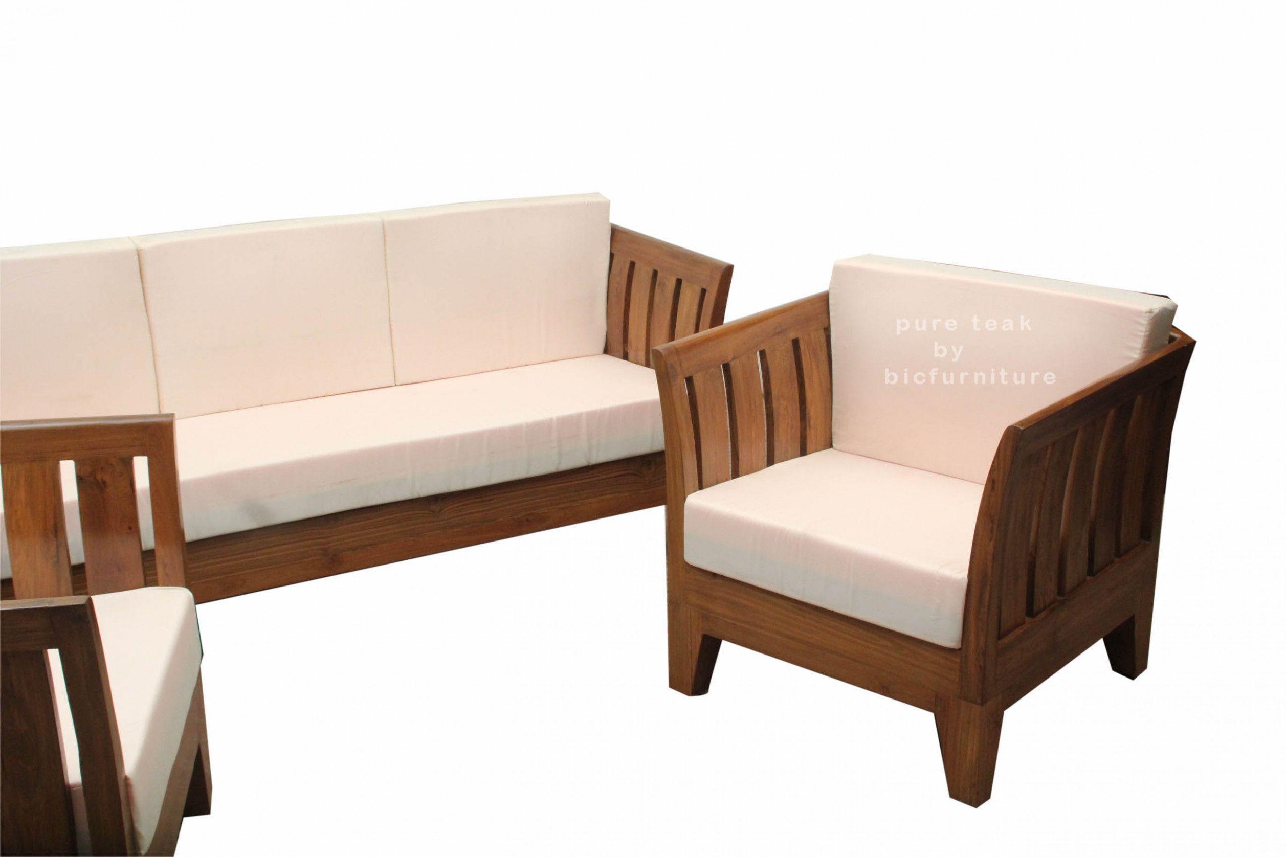 Teak Wood Sofa Set Ws 10 Design Of Teak Wood Sofa Set