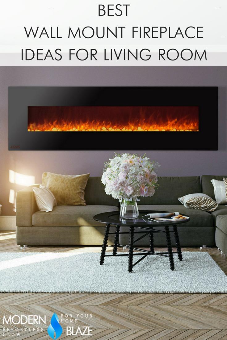 Best Wall Mount Electric Fireplace Ideas in