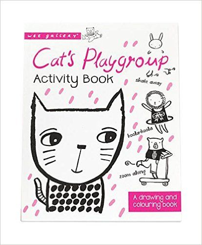 Cat's Playgroup Activity Book: A Drawing and coloring book (Wee Gallery Activity Book)