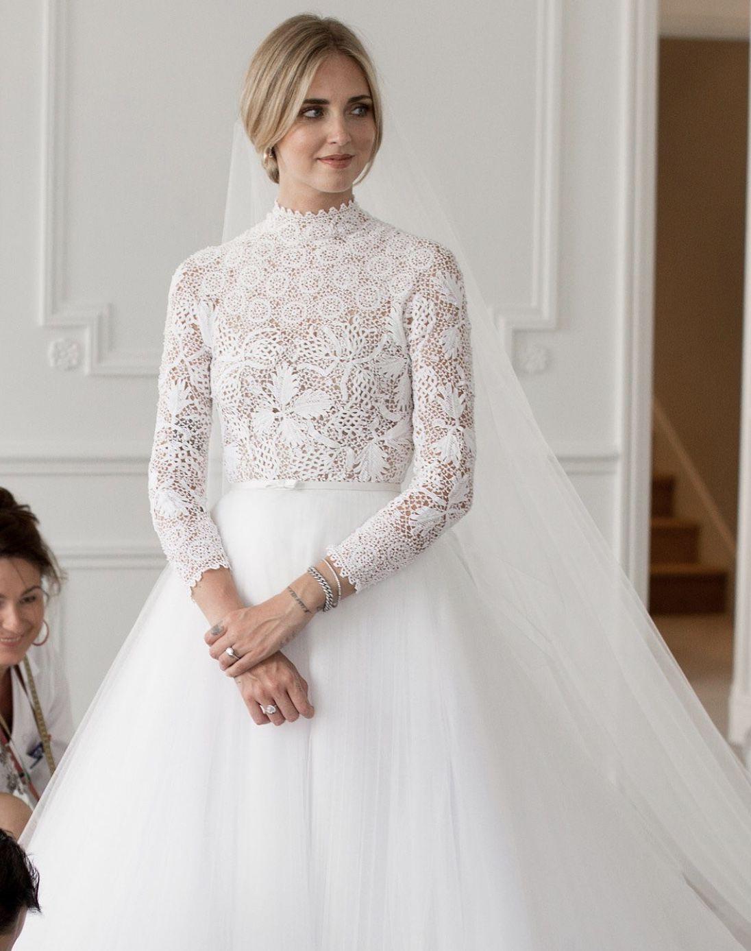 Image result for chiara ferragni wedding dress
