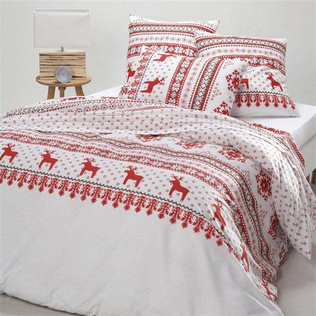 Housse de couette pur coton imprim ov lis bedrooms - La redoute housse canape ...