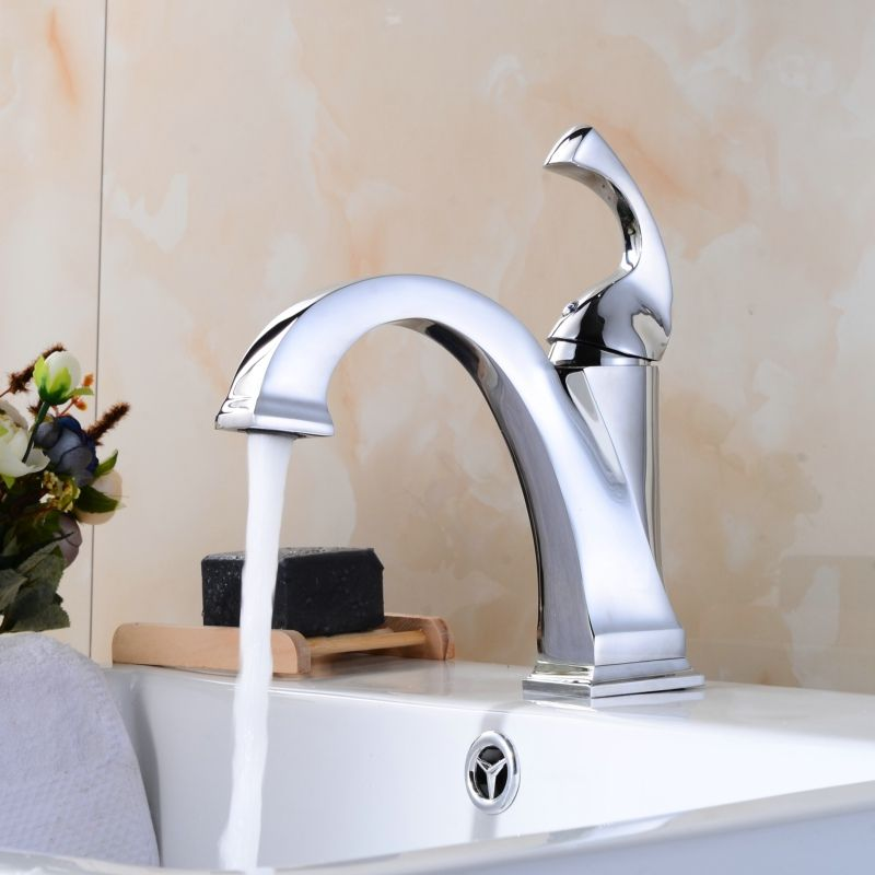 BECOLA Innovative design Bathroom faucet Cold and hot water brushed ...