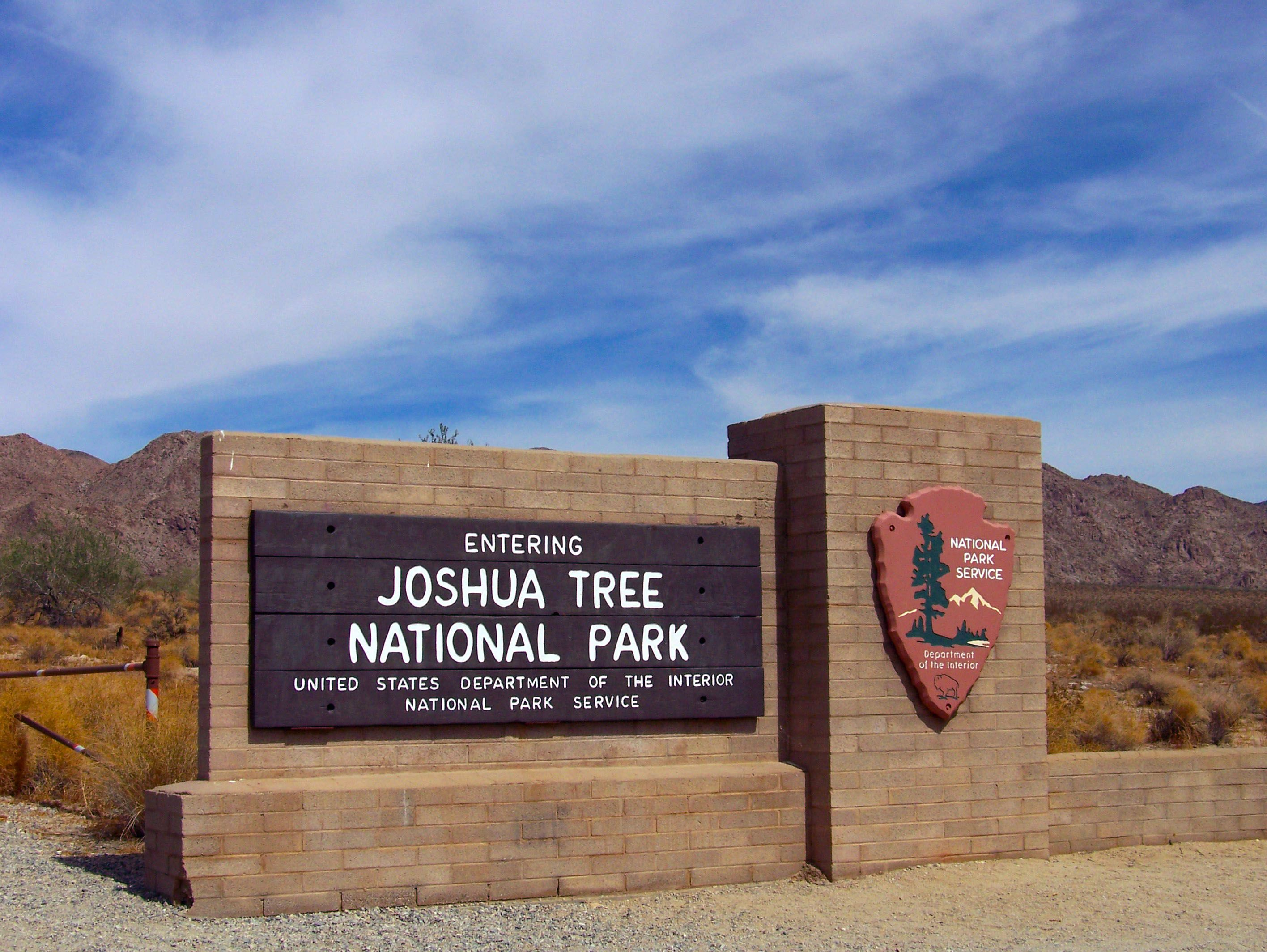 Image result for joshua tree national park signs