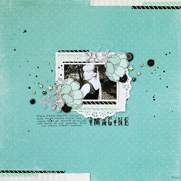 Scrapbooking layout by Anski