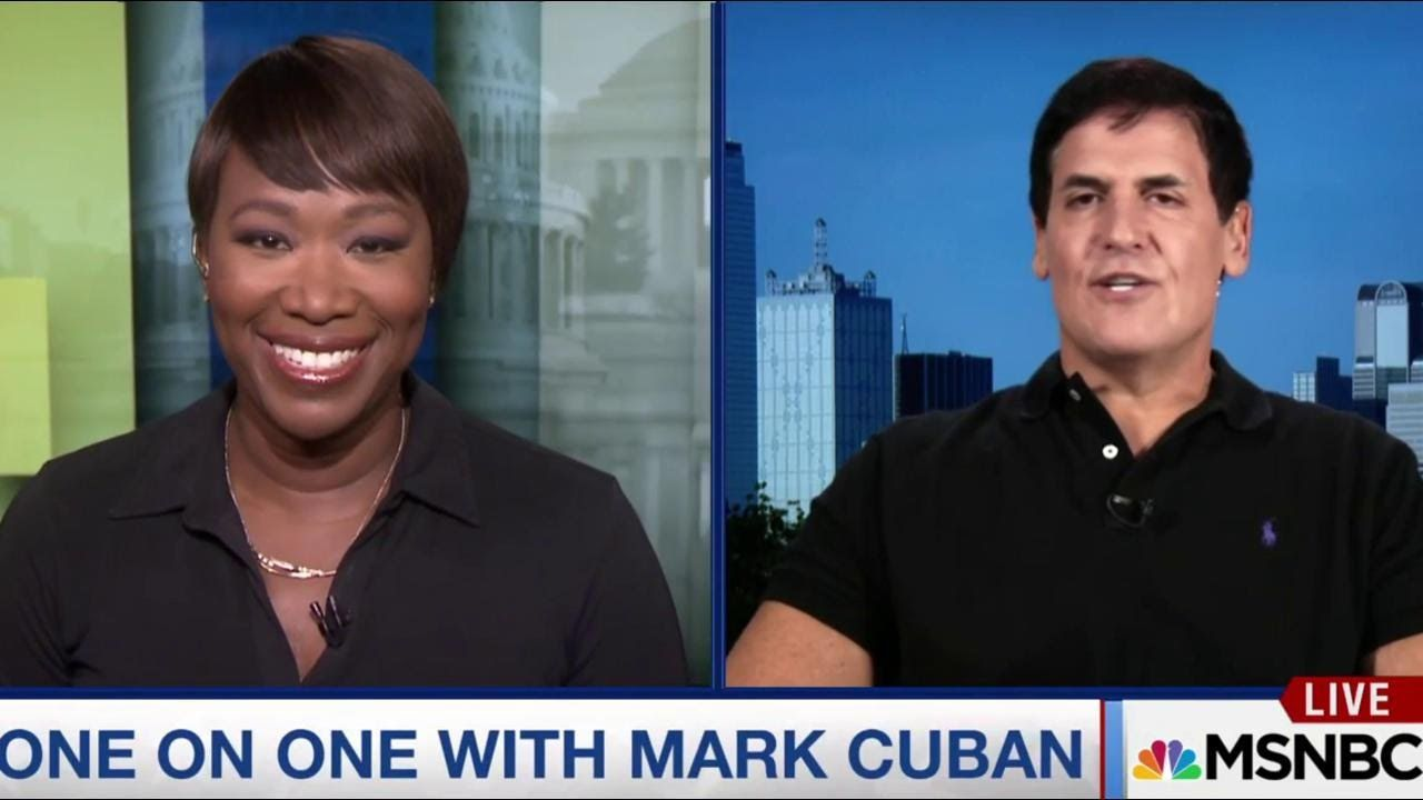 Billionaire Mark Cuban on Donald Drumpf | AM Joy | MSNBC 8:32 min