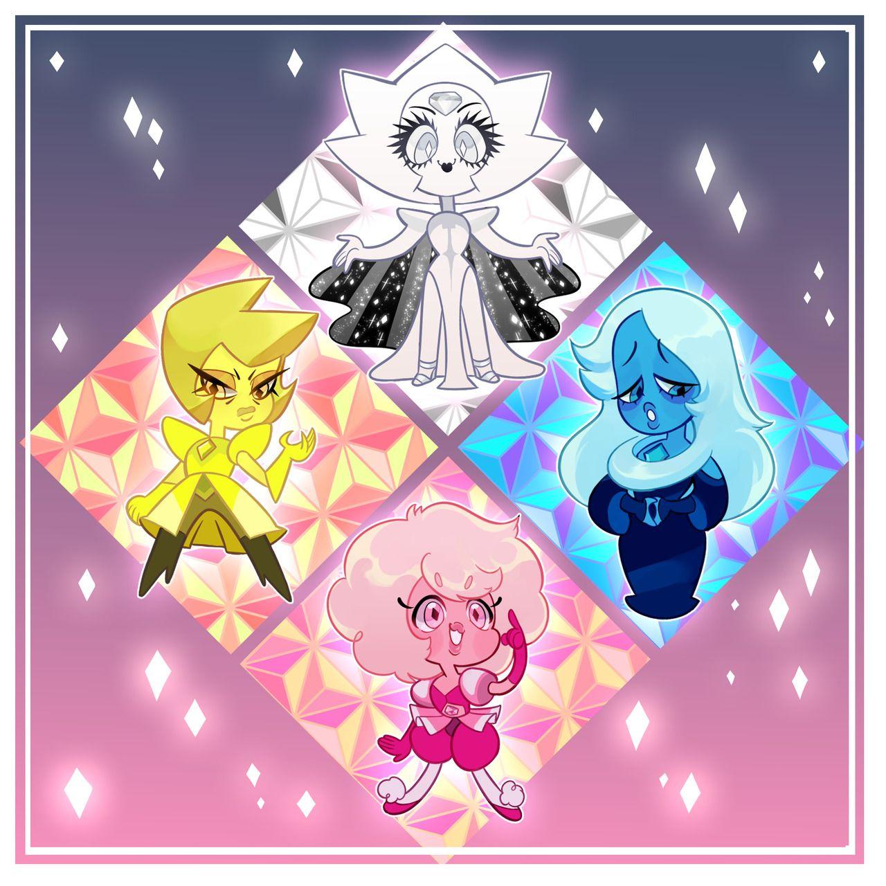 Стивен юниверс арты алмазы