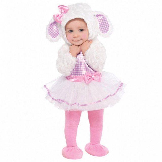 Ballerina Lämmchen Baby Kostüm