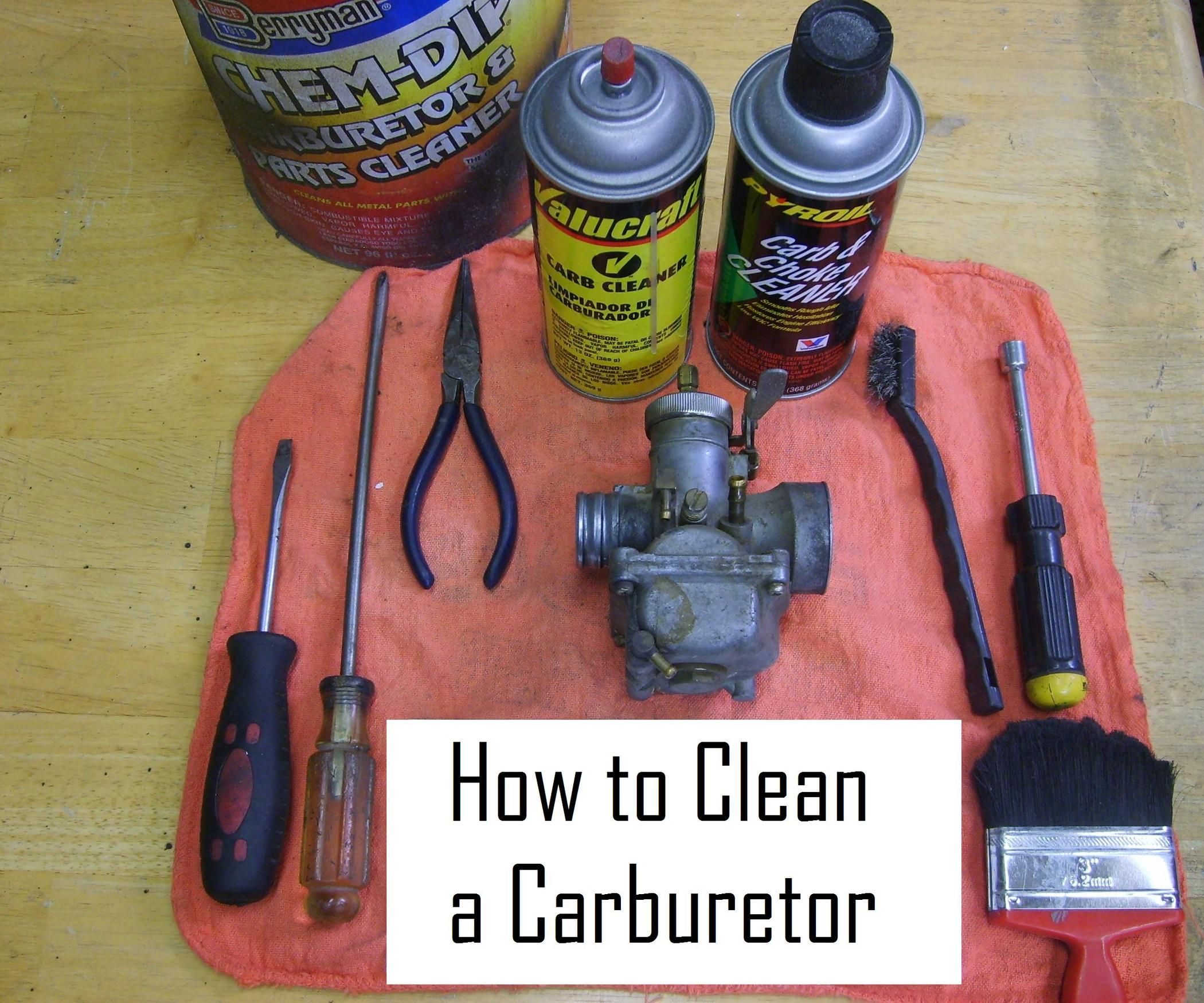 Cleaning A Carburetor In 8 Easy Steps