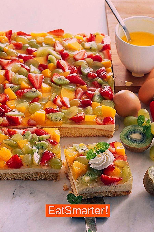 Photo of Kuchen Rezepte: Biskuit-Obstkuchen   EAT SMARTER